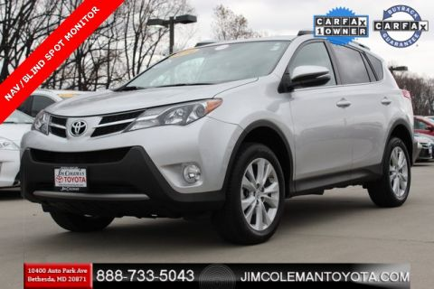 Pre-Owned 2014 Toyota RAV4 Limited 4D Sport Utility - 4452