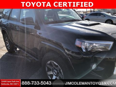 Certified Pre-Owned 2018 Toyota 4Runner TRD Off-Road 4D Sport Utility - 8670