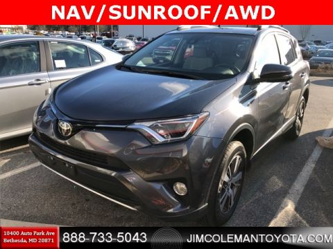 Certified Pre-Owned 2017 Toyota RAV4 XLE 4D Sport Utility - 4442